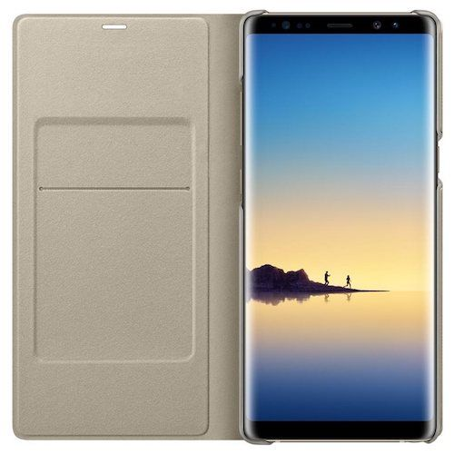 promo code 026a5 ef4a8 Samsung Galaxy Note 8 LED Wallet Flip Cover | Buytec
